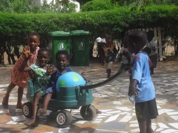 Straßenkinder-Projekt in Ghana