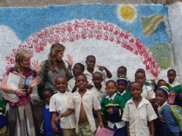 Freiwilligenarbeit in Tansania mit Kindern