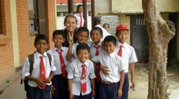 Freiwilligenarbeit in Nepal
