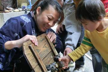 Freiwilligenarbeit in Japan Aufklärung Umweltschutz