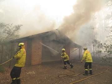 Feuerwehrleute Australien